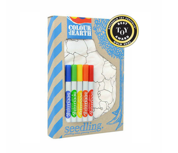 Color The Earth - Activity Kits - Shop Nectar - 1