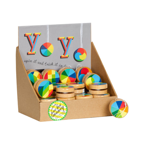 Colour Wheel Yoyos - colorful, Colour Wheel Yoyos, eco-friendly, game, Seedling, toys, toys-games