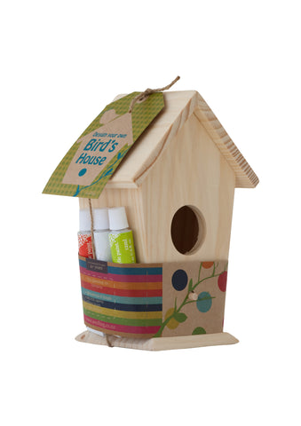 Design Your Own Birdhouse Crafting Kit - Activity Kits - Shop Nectar - 2
