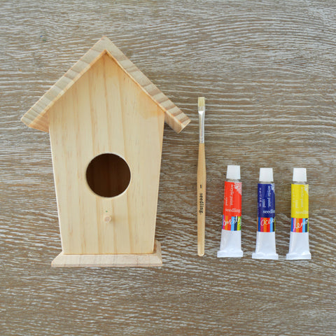 Design Your Own Birdhouse Crafting Kit - Activity Kits - Shop Nectar - 1