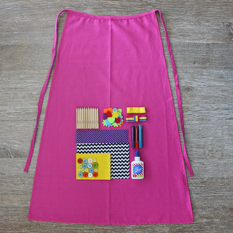 Design Your Own Pink Superhero Cape Crafting Kit - Activity Kits - Shop Nectar - 2