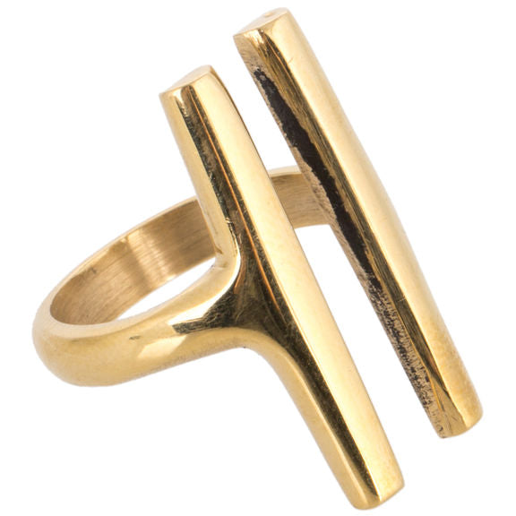 Soko Fair Trade Double Bar Ring