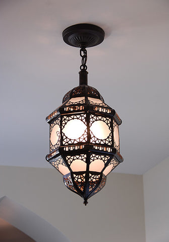 Moorish Faceted Filigree Pendant Lights - Pendants - Shop Nectar
