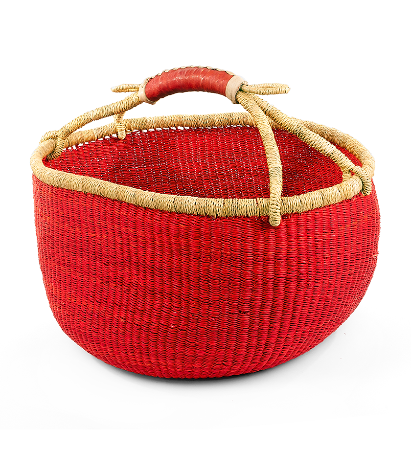 African Baskets: Fair Trade Ghanaian Bolga Basket