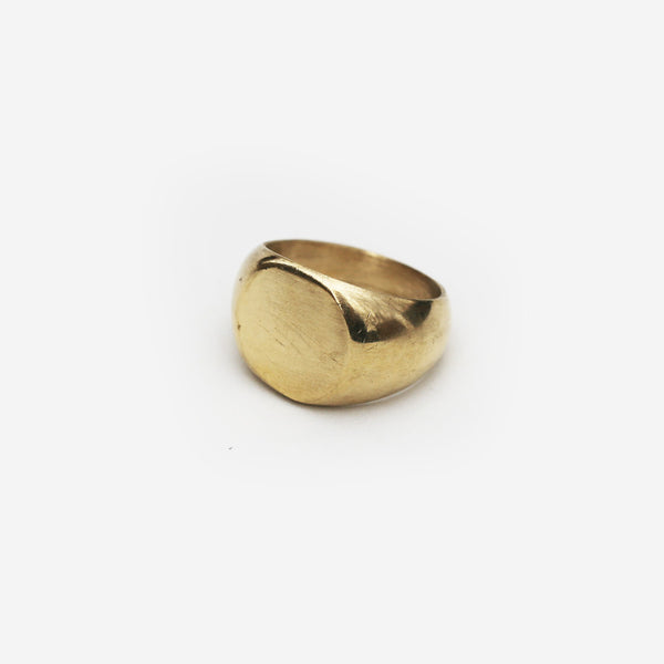 Meyelo Fair Trade Brass Chira Ring - Rings - Shop Nectar - 1