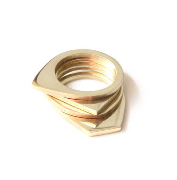 Fair Trade Soko Cosmic Stacking Rings - Rings - Shop Nectar - 1