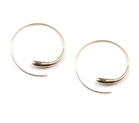 Fair Trade Soko Dash Hoop Earrings - Hoops - Shop Nectar - 1