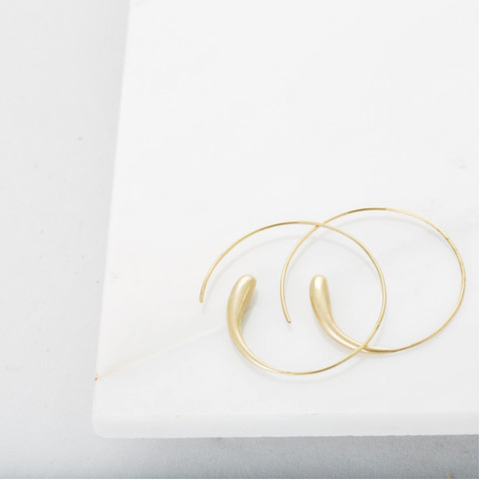 Fair Trade Soko Dash Hoop Earrings - Hoops - Shop Nectar - 2