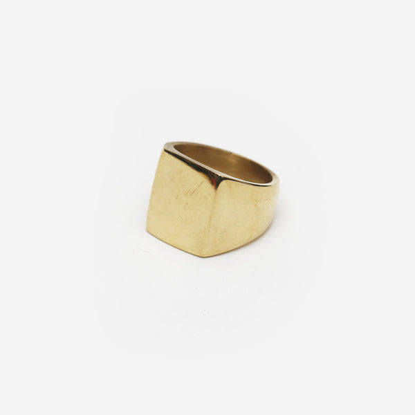 Meyelo Fair Trade Square Brass Ring - accessories, africa, african, assorted-styles, brass, clean-water, day, eco-friendly, education, fair-trade, gift, gifts, handmade, her, jewelry, kenya, mothers, rings, supporting-women, Sustainable