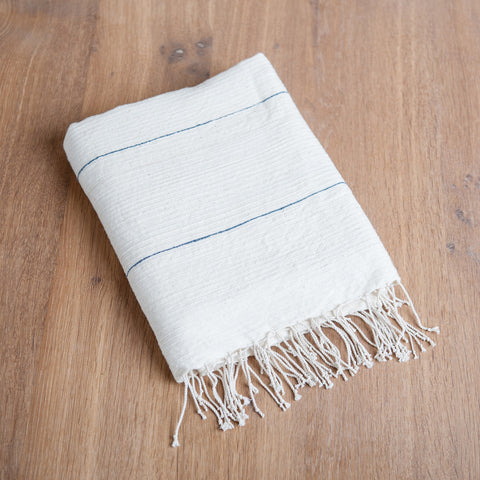 Fair Trade Fine Line Turkish Bath Towels - Bath Towels - Shop Nectar - 2