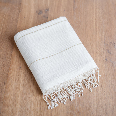 Fair Trade Fine Line Turkish Bath Towels - Bath Towels - Shop Nectar - 4