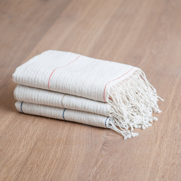 Fair Trade Fine Line Turkish Hand Towels - Hand Towels - Shop Nectar - 1
