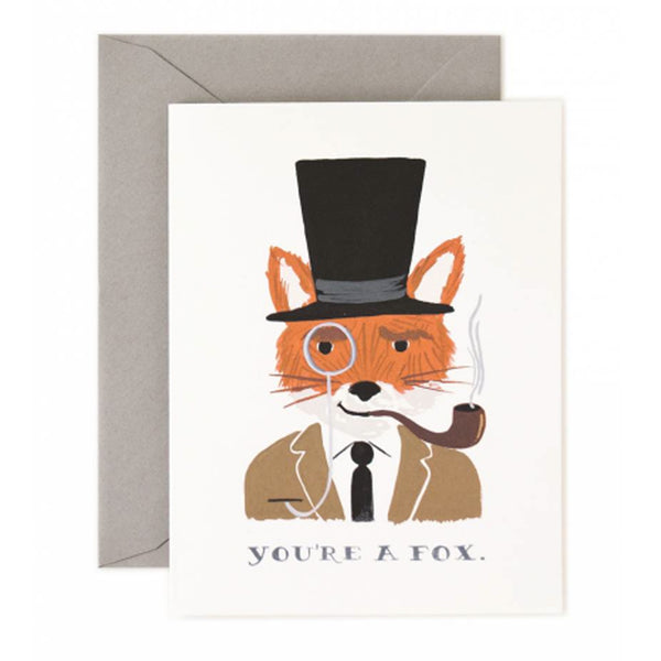 Rifle Paper Company You Are A Fox Greeting Card - Greeting Cards - Shop Nectar