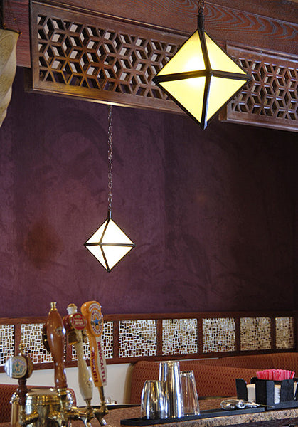 Diamond Pendant Lanterns - Pendants - Shop Nectar - 1