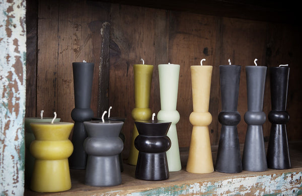 Josee Pillar Beeswax Candles by Greentree Home - Beeswax, beeswax candles, candle, candles, candles-diffusers-incense, decor, Eco, eco friendly, hand-crafted, hand-made, handmade