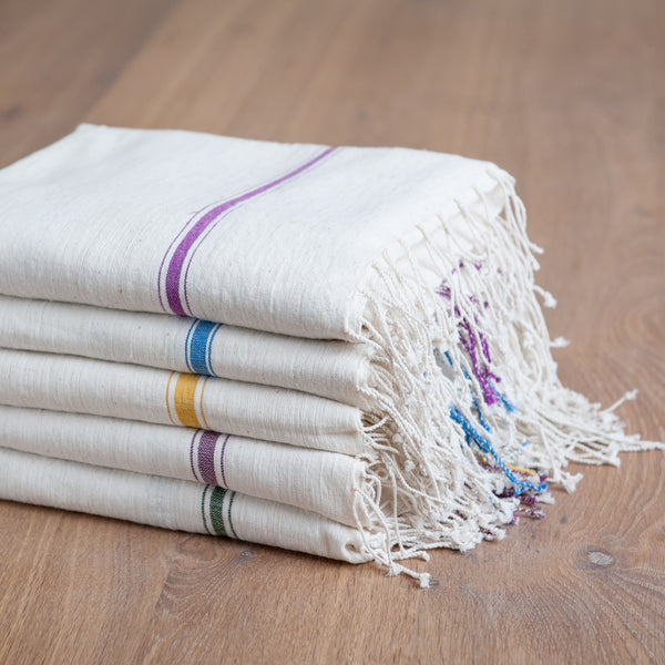 Fair Trade Hatch Turkish Bath Towels - assorted-styles, bath, Bath Sets, Bath Sheets, bath-beauty, bath-towels, bathroom, cotton, Creative Women, Ethiopia, fair-trade, handmade, organic, supporting-women, textiles, towels-textiles, Turkish Towels