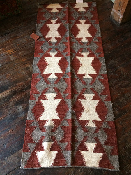 Fair Trade Handmade Wool Guatemalan Runner by Meso - accent-details, assorted-styles, decor, fair-trade, Guatemala, Hand Woven, rugs-runners