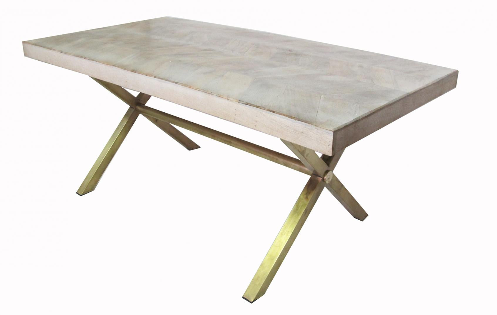 Indian Coffee Table Indian Wood Brass Dining Table Shop Nectar