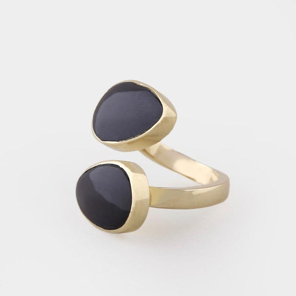 Soko Fair Trade Indra Horn Statement Ring