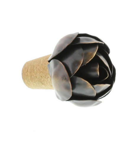 Iron Rose Bottle Stopper - Wine Stoppers - Shop Nectar - 2