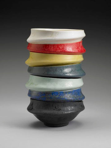 stacking bowls handmade pottery shop small Hudson Valley Artisan