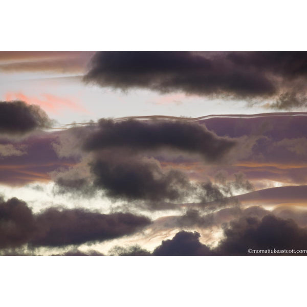 "Fine Art Cloud Photography: ""Last Light Clouds"" - art, cloud, clouds, cloudscape, cloudscapes, decor, fine art, local, local artist, local artists, Photograph, photographs, photography, wall art"