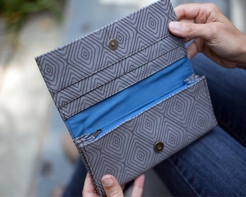 Malia Designs Fair Trade Diamond Wallet