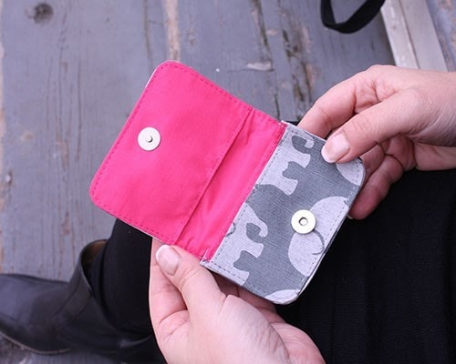 Malia Designs Fair Trade Elephant Card Holder