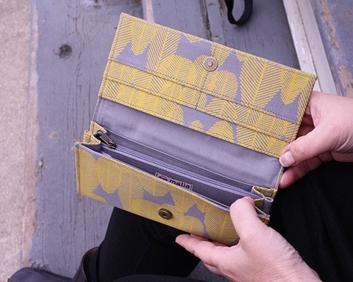 Malia Designs Fair Trade Leaf Wallet