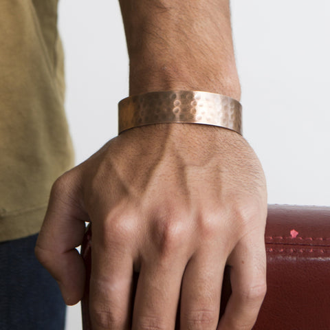 Fair Trade Men's Raj Cuff - accessories, bracelet, brass jewelry, copper, copper bracelet, copper jewelry, fair-trade, gift, gifts, gifts-for-him, Handcrafted, handmade, jewelry, leather, leather bracelet, leather jewelry, leather trend, mens, mens accessories, mens bracelet, mens bracelets, mens fashion, mens fashion trends, mens jewelry, mens jewlery, mens leather jewelry, new-arrivals-in-jewelry, silver bracelet, silver jewelry, staff-picks-jewelry, Wrap Bracelets