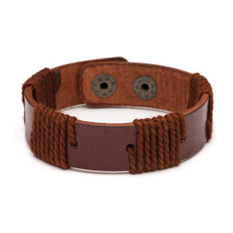 Fair Trade Men's Rama Cuff - accessories, bracelet, fair-trade, gift, gifts, gifts-for-him, Handcrafted, handmade, jewelry, leather, leather bracelet, leather jewelry, leather trend, mens, mens accessories, mens bracelet, mens bracelets, mens fashion, mens fashion trends, mens jewelry, mens jewlery, mens leather jewelry, new-arrivals-in-jewelry, staff-picks-jewelry, Wrap Bracelets