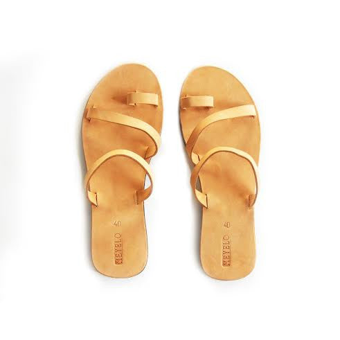 Meyelo Kendi Leather Fair Trade Sandals - Sandals - Shop Nectar