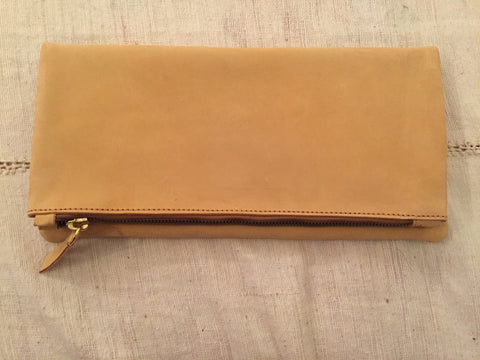 Meyelo Fair Trade Nubuck Clutch