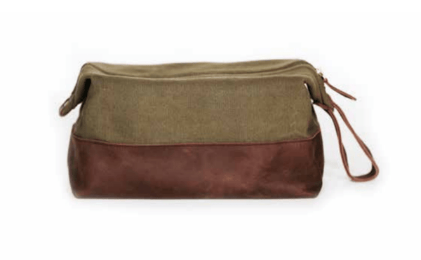 Meyelo Fair Trade Fynn Wash Bag - accesory-pouches, accessory-pouches, assorted-styles, bag, bagged, bags, bags-clutches-wallets, Canvas, clean-water, day, days, education, fair, fair-trade, father, fathers, For, for her, gift, gift for, gifts, gifts-for-him, handmade, Kenya, Medium, men's bag, Meyelo, mother, mother's, Mother's Day, student, students, supporting-women, toiletries, trade, travel, unisex, wallet, wallets