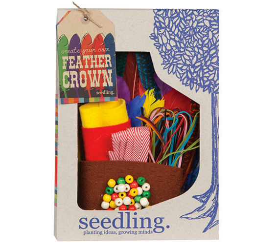 Create Your Own Feather Crown - Activity Kits - Shop Nectar - 1