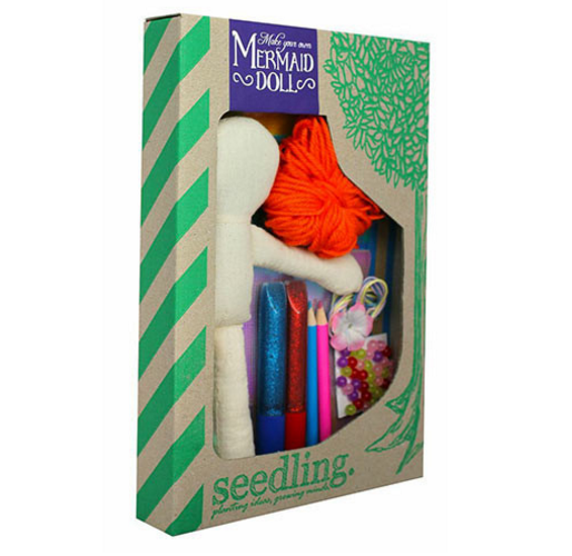 Create Your Own Mermaid Doll - Activity Kits - Shop Nectar - 1