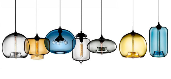 Niche Modern Hand Blown Glass Pendant Lights - light, lighting, lights, niche, niche modern, niche modern lights, nichemodern, pendant light, pendant lights, pendants, pendants-chandeliers