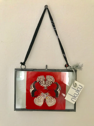 Ukuku Fair Trade Kiki Photo Frame - accent-details, recycled, assorted-styles, bone, decor, fair-trade, glass, handmade, black, metal, pictures, photo frame, picture-frames-stands, Sustainable, wedding-decor