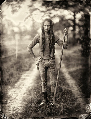 Organic: Jay Uhler Photographed by Francesco Mastalia - art, artwork, assorted-styles, Chester, decor, Farm-to-Table, Farmers, Framed, Francesco Mastalia, Hudson Valley, local, New York, NY, organic, Photograph, photography, portraits, Print, Sustainable, sustainably sourced, Unframed