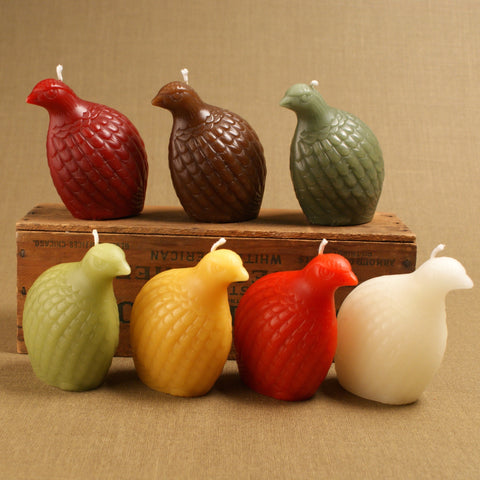 Partridge Beeswax Candles by Greentree Home