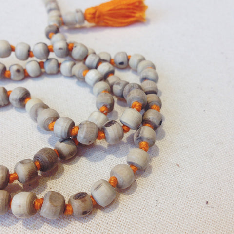 Tulsi Mala Bead Necklace - bead, beads, day, fathers, free shipping, gift, gifts, handmade, India, Indian, jewelry, Mala, Mala Beads, mother's, necklaces, prayer, rosary