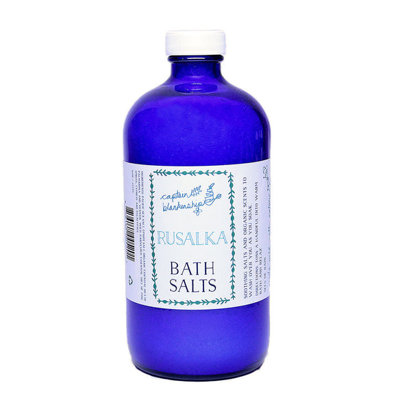 Captain Blankenship Organic Bath Salts - american-made, assorted-styles, bath, bath-beauty, bath-salts, beauty, beauty-hair-care, body, Captain Blankenship, care, day, gift, gifts, her, Hudson Valley, locally made, mothers, organic, shop local, skin, skincare