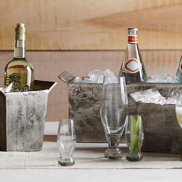 Roost Almas Recycled Pilsner Glass - Almas, Blown Glass, glassware, glassware-1, kitchen-dining, pilsner, Recycled Glass, Roost, tumblers-cocktail-glasses
