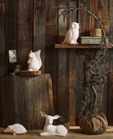 Roost Porcelain Fawn Lamp - Kids Lamps - Shop Nectar - 1