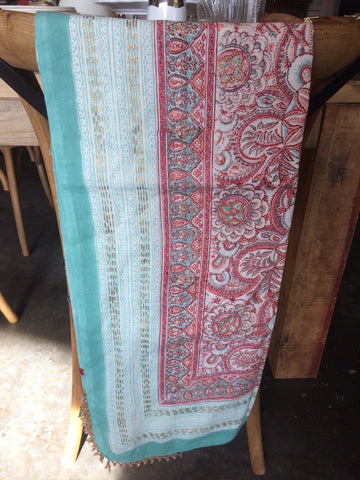 Cotton Indian Scarf