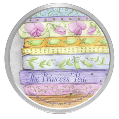 The Princess's Pea Garden Kit (Organic) - Activity Kits - Shop Nectar - 1