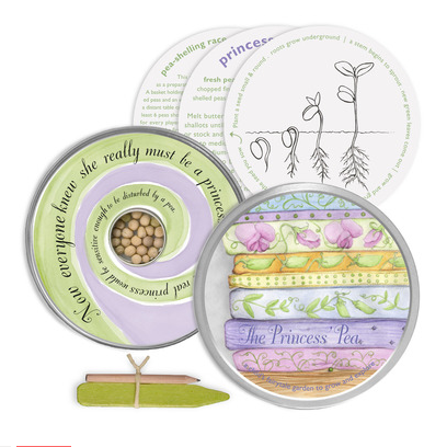 The Princess's Pea Garden Kit (Organic) - Activity Kits - Shop Nectar - 2