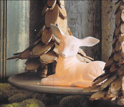 Roost Porcelain Fawn Lamp - Kids Lamps - Shop Nectar - 3