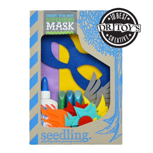 Design Your Own Superhero Mask Crafting Kit - Activity Kits - Shop Nectar - 1