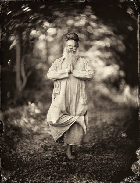 Yoga: Shiv Mirabito Photographed By Francesco Mastalia - 19th century photograph, alternative therapy, art, artwork, assorted-styles, breathe work, breathing, collodion process, decor, Framed, Francesco Mastalia, Hudson, Hudson Valley, Jared McCann, local, meditation, nature, New York, NY, organic, peaceful, photo frame, Photograph, photographs, photography, portrait, portraits, Print, Unframed, yoga, yoga instructor